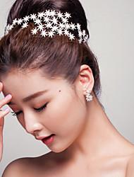 povoljno -Umjetno drago kamenje Legura tijare 1 Vjenčanje Special Occasion Glava