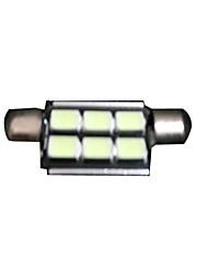 Недорогие -Фестон Для кроссовера / Для автоматического транспортера / Для внедорожника Лампы 2.5 W SMD 5050 90 lm 6 Фары дневного света / Подсветка приборной доски / Подсветка для чтения Назначение