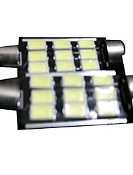 Недорогие -популярная модель гирлянда привели автомобиль лампа поток 99% автомобилей модели подходят гирлянда 39mm 3W белый COB светодиодный