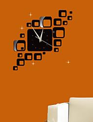 Недорогие -Зеркала / Мода / Праздник / Геометрия / Отдых Наклейки Простые наклейки , pvs 38*25*6