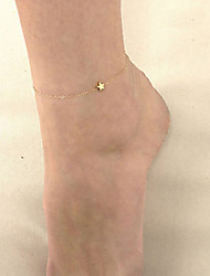 cheap -Stars Chain Anklet Bracelet Foot Jewelry Barefoot Sandal Beach Fun