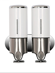 cheap -Soap Dispenser Contemporary Stainless Steel + Plastic 1 pc - Hotel bath