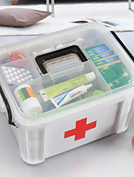 cheap -New Family Health Medicine Chest Pill Box First Aid Scrapbooking & Stamping Kits