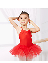 cheap -Kids' Dancewear Leotards Children's Training Spandex Sleeveless