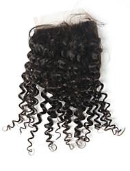 Arison Hair Klasik Kinky Curly Švicarska čipka Ljudska kosa Besplatno dio Središnji dio 3. dio Visoka kvaliteta Dnevno