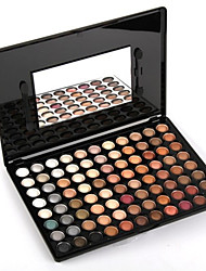 preiswerte -88 Lidschattenpalette Trocken Lidschatten-Palette Puder Smokey Makeup Alltag Make-up