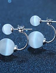 povoljno -Žene Sitne naušnice Plastika Jewelry Vjenčanje Party Dnevno Nakit odjeće