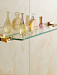 cheap -Bathroom Shelf Contemporary Brass 1 pc - Hotel bath
