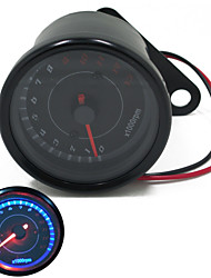 cheap -Universal Motorcycle  Dirt Bike Tachometer 0~13000RPM Tacho Gauges for Honda Yamaha Suzuki Kawasaki
