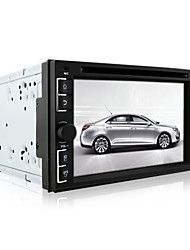 baratos -DVD Player Automotivo - 2 Din - 800 x 480 - 6,2 Polegadas