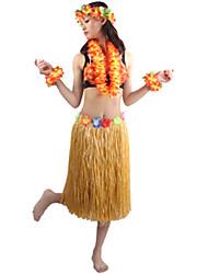 Burlesques Costumes de Cosplay Costume de Soirée Unisexe Halloween Carnaval Fête / Célébration Déguisement d'Halloween Vert Jaune Beige