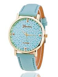 cheap -Xu™ Women's Fashion Hollow Out Small Chrysanthemum Quartz Watch Cool Watches Unique Watches Strap Watch
