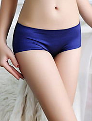 Women's Sexy Seamless Cotton / Nylon / Ice Silk Panties Boy shorts & Briefs Women's Underwear