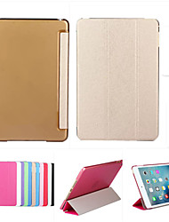 cheap -Smart Cover Leather Case + PC Translucent Back Case For Apple iPad Air 2 +Free Gift Protector Film+Touch Pen