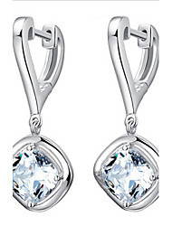 cheap -The high-end S925 Sterling Silver Earrings Classical Feminine Style