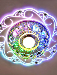 cheap -20*12CM Crystal Ceiling Lamp Spotlight LED SMD 3W Creative Lamp Tube Light Colorful Color  Dome Light