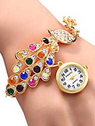 cheap -Women's Elegant Peacock Design Bracelet Quartz Wristwatch Cool Watches Unique Watches