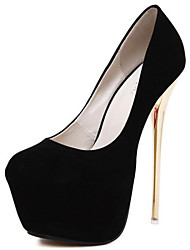 cheap -Women's Shoes Synthetic Spring / Summer / Fall Light Up Shoes Heels Stiletto Heel Polka Dot Black / Red / Wedding / Party & Evening / Dress / Party & Evening