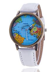 cheap -Xu™ Women's Fashion The World Map Denim Belt Quartz Watch Cool Watches Unique Watches
