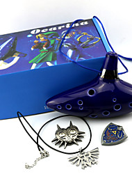 economico -Altri accessori Ispirato da The Legend of Zelda Cosplay Anime/Videogiochi Accessori Cosplay Altri accessori Blu inchiostro Uomo / Donna