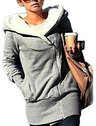 billige -Dame-Ensfarvet Chic & Moderne Bluse