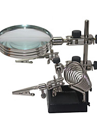 cheap -Helping Third Hand Soldering Stand with 5X Magnifying Glass