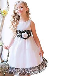 Girl's  Fashion Leisure Sleeveless  Rose Formal Dress