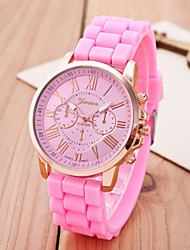 cheap -Women's Quartz Wrist Watch Colorful Alloy Band Charm Casual Dress Watch Fashion Multi-Colored