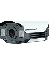 Strongshine®Bullet IP Camera with 1.0MP/50M Distance Infrared/Waterproof/ Day & Night/POE Power Supply