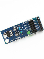 cheap -NRF24L01 Wireless Module Socket Adapter Plate Board for Arduino+ Raspberry Pi - Blue