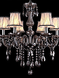 cheap -Ecolight™ Traditional / Classic Chandelier Ambient Light - Crystal, 110-120V 220-240V Bulb Not Included