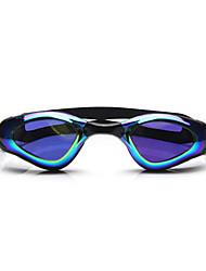 Недорогие -плавательные очки Водонепроницаемость Противо-туманное покрытие Регулируемый размер УФ-защита Поляризованные линзы Фиксирующий шнурок силикагель Поликарбонат белый серый черный розовый черный синий