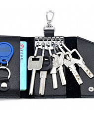 cheap -Men's Leather Multifunction Key bags Popular Special High-grade Card Package