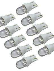 cheap -YouOKLight® T10 0.2W 30-60lm 6000-6500K White Light LED Bulb Car Signal Lamp (DC 12V/10PCS)