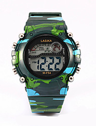 cheap -Three color digital watches camouflage table water activity Strap Watch watch Cool Watches Unique Watches Fashion Watch