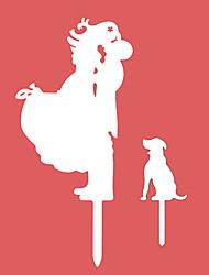 Недорогие -Украшения для торта Азия Классика Классическая пара Резина Свадьба Годовщина Девичник с 1 Пенополиуретан