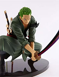 cheap -Anime Action Figures Inspired by One Piece Roronoa Zoro Engineering Plastics 18 CM Model Toys Doll Toy Men's