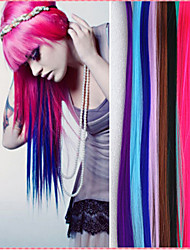 cheap -Synthetic Hair Hair Extension Straight Classic Clip In Daily High Quality