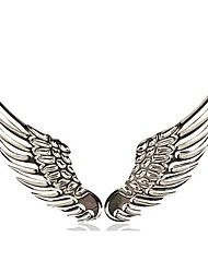 cheap -ZIQIAO Car Styling Metal Large Wings Affixed 3D Personality Modification Car Sticker