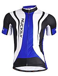 economico -Nuckily Maglia da ciclismo Per uomo Manica corta Bicicletta Maglietta/Maglia Top Asciugatura rapida Design anatomico Permeabile