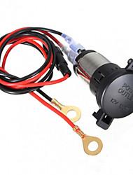 Недорогие -12v 120w автомобиль мотоцикл прикуривателя мощности 60см кабель