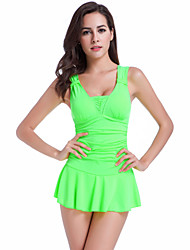 cheap -Women's One-piece - Solid Colored, Basic