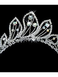 baratos -cristal cristalino tiaras headpiece estilo feminino clássico