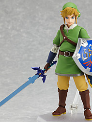 cheap -Anime Action Figures Inspired by The Legend of Zelda Link PVC(PolyVinyl Chloride) 14 cm CM Model Toys Doll Toy