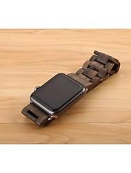 Недорогие -Ремешок для часов для Apple Watch Series 3 / 2 / 1 Apple Бабочка Пряжка Дерево Повязка на запястье