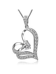 baratos -Mulheres Cristal Colares com Pendentes  -  Prata Dourado Colar Para Casamento Festa Diário