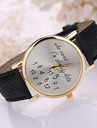 """Women's Leather Band Letter""""who cares i'am already late"""" Case Wrist Watch Cool Watches Unique Watches Strap Watch"""