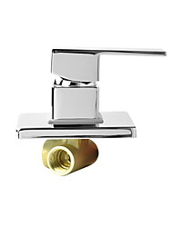 cheap -Faucet accessory - Superior Quality - Contemporary Brass Hot and Cold Mix Water Valve - Finish - Chrome