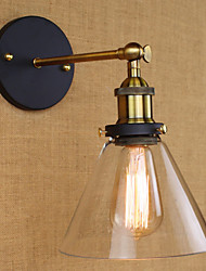 cheap -Industrial Bell Type American Country Decorative Wall Sconce