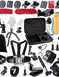 cheap -Accessory Kit For Gopro 49 in 1 Adjustable Anti-Shock Waterproof Dust Proof Floating For Action Camera Gopro 5 Xiaomi Camera Gopro 4